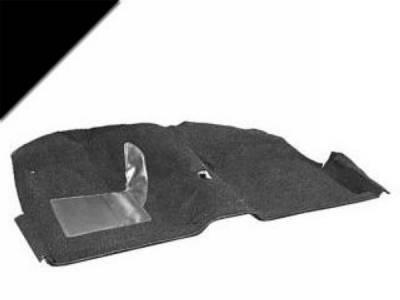 Scott Drake - 69-70 Mustang Coupe Molded Carpet Kit (Black)