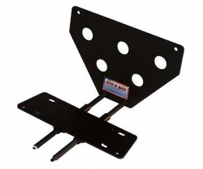 Stang-Aholics - 13 - 14 Mustang Shelby GT500 License Plate Bracket