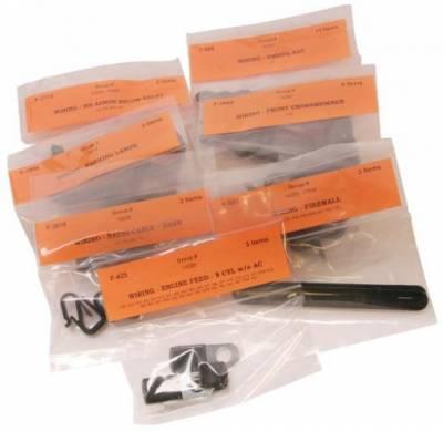 Scott Drake - 1967 Mustang Wiring Clip Master Kit