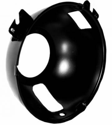 Scott Drake - 1969 Mustang Outer Headlamp Bucket, Right Hand