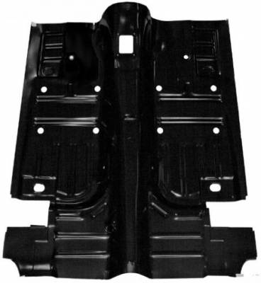 Scott Drake - 69 - 70 Mustang Coupe/Fastback Floor Pan, Pan Only
