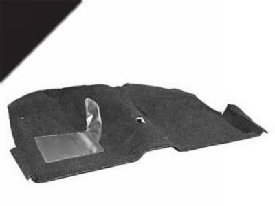Scott Drake - 65-68 Mustang Convertible Economy Carpet Kit (Black)