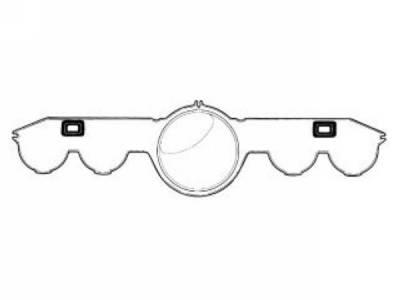 Scott Drake - 1965 - 1966 Mustang  Instrument Lens (Full Instrumentation)