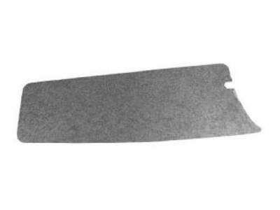 Scott Drake - 67-68 Mustang Trunk Filler Board (Black Chipboard)