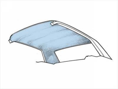 Scott Drake - 69-70 Mustang Fastback Headliner (Light Blue)