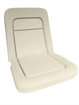 Scott Drake - 68 - 69 Mustang Standard or Deluxe Front Bucket Seat Foam Set