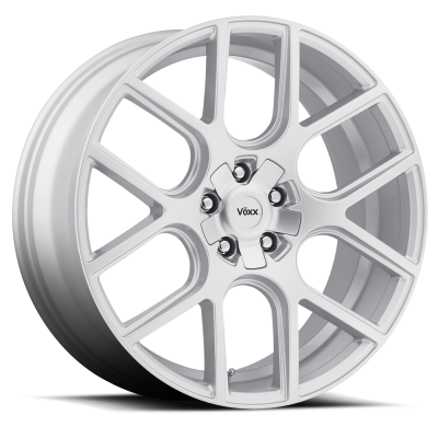 "Voxx - 05 - Current Mustang Lago Silver Wheel 20 X 9.5 , 6.80"" bs, EACH"