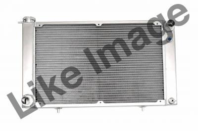 C & R Racing - 67 - 70 Mustang Aluminum Radiator, HHP Small & Big Block Engines