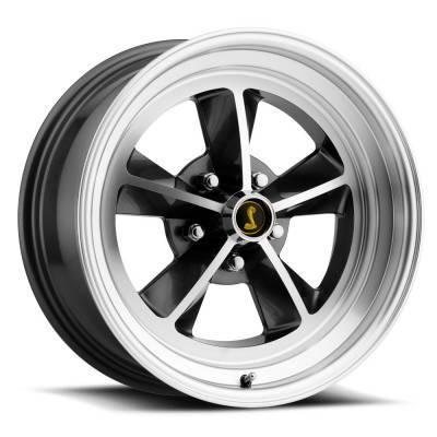 Legendary Wheel Co. - 17 x 7 Legendary GT9 Alloy Wheel, 5 on 4.5 BP, 4.25 BS,Charcoal / Machined