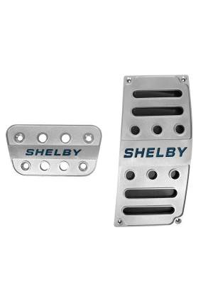 Drake Muscle Cars - 05 - 17 Mustang Shelby Automatic Pedal Covers