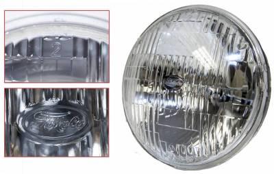 Scott Drake - 1969 Mustang or 67 Shelby High/Low Beam Halogen Headlight