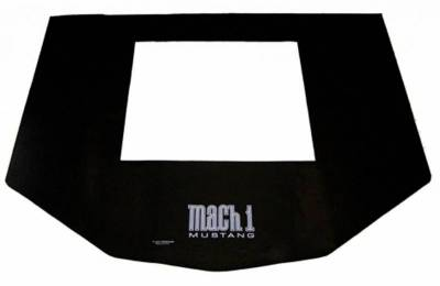 Scott Drake - 65-70 Mustang Fender Gripper Complete Front End Protection Cover, Mach 1 Logo