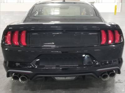 Shelby Performance Parts - 18 - 19 Mustang Shelby Quad Tip Exhaust (Acitve)