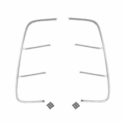 All Classic Parts - 69 Mustang Quarter Panel Ornament w/Hardware, PAIR