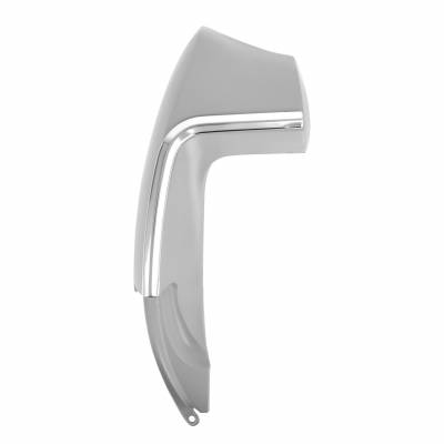 All Classic Parts - 67-68 Mustang Quarter Panel Extension, Includes Molding, Fastback, Left