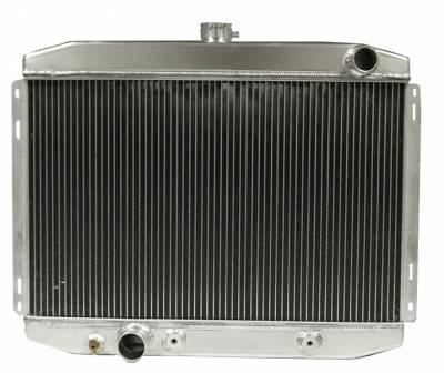 Scott Drake - 67 - 70 Mustang Aluminum Radiator for Big Block FE 390 428 Engines