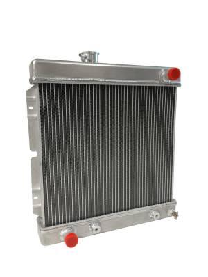 Scott Drake - 1964 - 1966 Mustang 2-Row Aluminum Radiator for 5.0 Engines