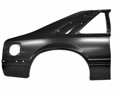 Dynacorn - 87 - 90 Mustang Complete Quarter Panel (RH)