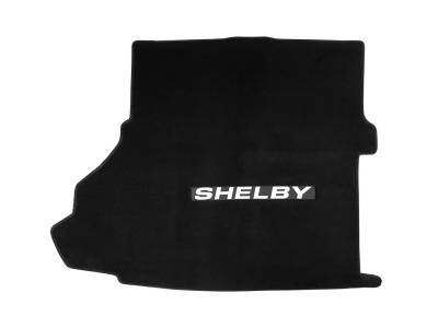 Drake Muscle Cars - 15+ Mustang Trunk Mat, Shelby Lettering, FOR Shaker SUB
