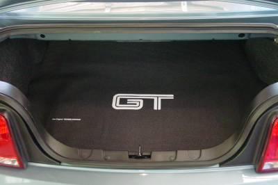 Fender Gripper - Mustang Fender Gripper Trunk Mat, GT Logo