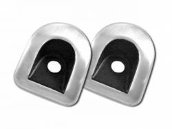 Drake Muscle Cars - 05 - 07 Mustang Door Lock Grommet Covers,pr