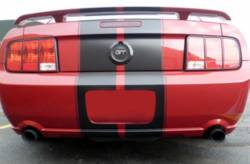 Kits - Axle & Cat Back - MRT - 11 - 14 Mustang V6 Black MRT Axle Back Exhaust