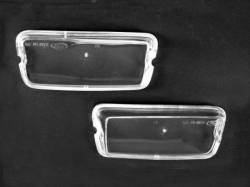 Electrical & Lighting - Turn Signals - Scott Drake - 1970 Mustang  Mach 1 Grill Parking Lamp Lenses