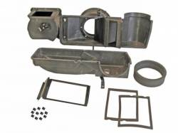 A/C & Heating - Heater Assembly - Scott Drake - 69 - 70 Mustang Heaterbox with Gasket-Clips