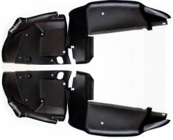 Weatherstrip - Kits - Scott Drake - 1970 Mustang Fender Splash Shield Set