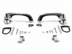 Door - Exterior Handles - Scott Drake - 1969 - 1970 Mustang  Show-Quality Door Handles (polished chrome)