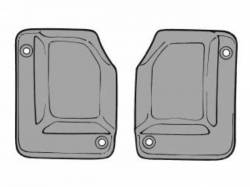 69-70 Mustang Fastback Quarter Window to Body Seals