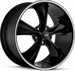 Foose Wheels - 05 - 14 Mustang Foose Legend Black 18 x 8.5 Wheel