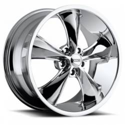 Foose Wheels - 05 - 14 Mustang Foose Legend Chrome 18 x 8.5 Wheel