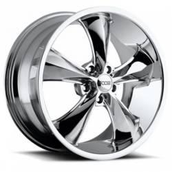 Foose Wheels - 05 - 14 Mustang Foose Legend Chrome 18 x 8.5 Wheel