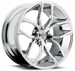 Foose Wheels - 05 - 14 Mustang Foose Outcast Chrome 20 x 10 Wheel