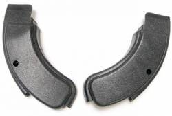 Seats & Components - Seat Components - Scott Drake - 1971-73 Mustang Seat Hinge Covers(black)