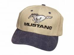 Accessories - Apparel - Scott Drake - Mustang Hat (Blue & Khaki)