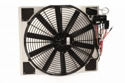 Cooling - Radiator Fan & Shrouds - Scott Drake - 64 - 66 Mustang Electric Fan & Shroud Kit