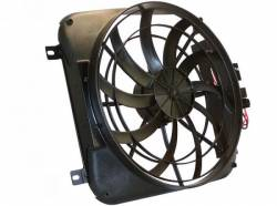 Cooling - Radiator Fan & Shrouds - Scott Drake - 64 - 66 Mustang Electric Fan and Shroud
