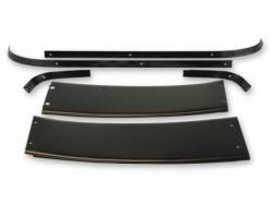 67-68 Mustang Fastback Rear Roof Trim and molding set