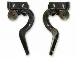Trunk Area - Deck Lid - Scott Drake - 67-68 Mustang Fastback Trunk Lid Hinges Pair