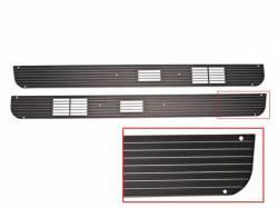 Door Panels & Related - Speaker Grilles - Scott Drake - 67-68 Mustang Deluxe Door Speaker Grills