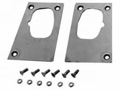 Door - Latches & Related - Scott Drake - 67-68 Mustang Door Latch Plate Repair Kit