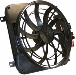 Cooling - Radiator Fan & Shrouds - Scott Drake - 67 - 69 Mustang Electric Fan and Shroud Kit, SB V8