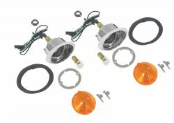 Electrical & Lighting - Back Up Lights - Scott Drake - 64 - 66 Mustang Park Lamp Master Kit