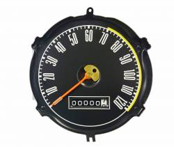 67 - 68 Mustang Speedometer Assembly without Factory Tach
