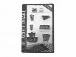 Interior - Fastners & Hardware - Scott Drake - 64-66 Mustang Convertable Interior Trim Screw Kit