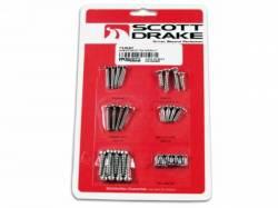 Body - Hardware Kits - Scott Drake - 64-66 Mustang Exterior Trim Screw Kits