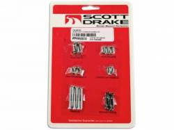 Interior - Fastners & Hardware - Scott Drake - 1964 - 1966 Mustang  Pony Interior Trim Screw Kit
