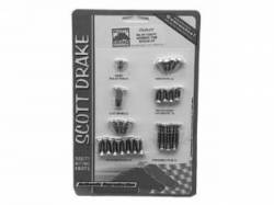 Interior - Fastners & Hardware - Scott Drake - 67-68 Mustang Fastback Interior Trim Screw Kit